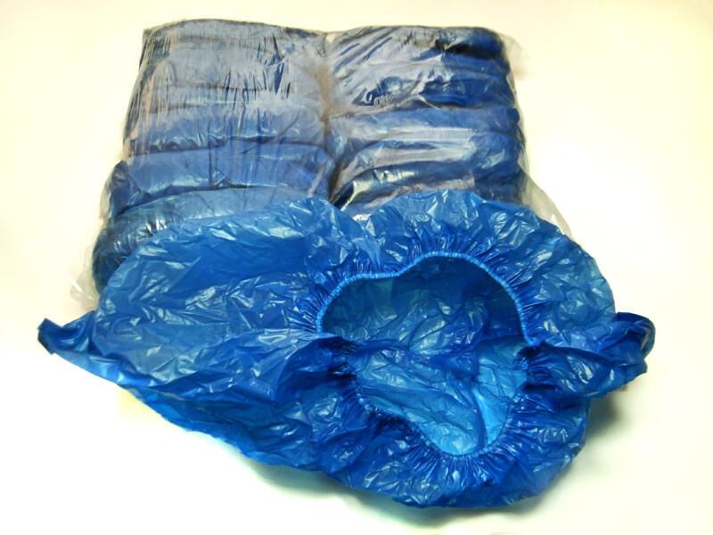 Ochraniacze na obuwie foliowe